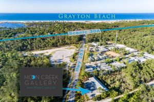 Moon Creek Gallery Open In Grayton Beach, Florida